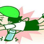 走って登校中に転倒、子供に多い内臓損傷の原因にはある共通点が!!